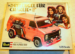 Charlie's Angel Mobile Unit Van | Model Car Kits