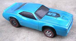 1971 cuda trans am blue medium