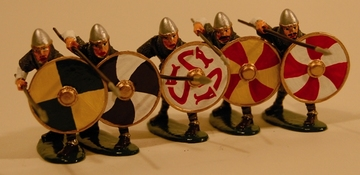 Shield Wall Saxon | Figures and Toy Soldiers