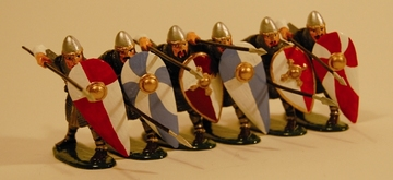 Shield Wall Norman | Figures and Toy Soldiers