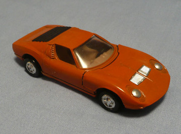 Lamborghini Miura | Model Cars | This Playart Miura has been detailed by a previous owner who painted the headlights silver and the rear louvers black.