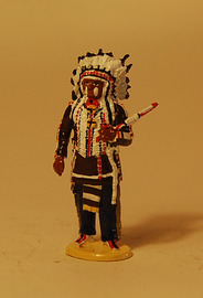 Hollow Horn Bear - Sioux | Figures & Toy Soldiers