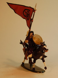 Light Mounted Warrior with lance | Figures and Toy Soldiers