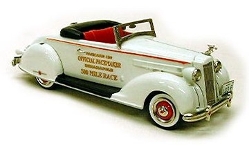 1936 Packard Pace Car | Model Cars