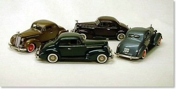 1939 Packard Club Coupe | Model Cars