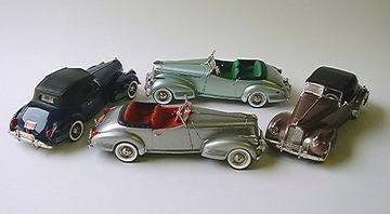 1941 Packard Darrin   Model Cars