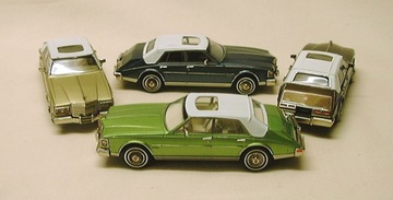 1981 Cadillac Seville with Simulated Padded Top | Model Cars