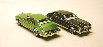 1981 Cadillac Seville with Plain Roof   Model Cars