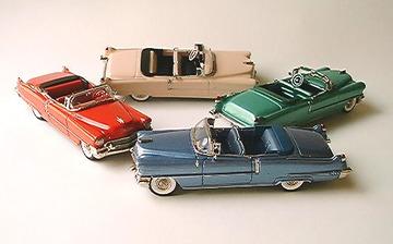 1956 Cadillac 62 2 Door Convertible | Model Cars
