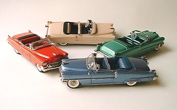 1956 Cadillac 62 2 Door Convertible | Model Cars
