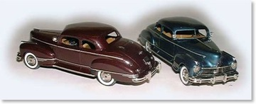 1947 Hudson Six Coupe | Model Cars