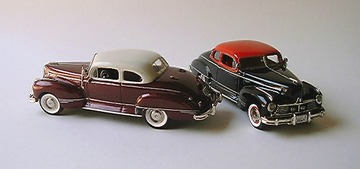 1947 Hudson Two Tone Commodore | Model Cars