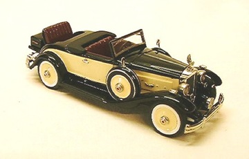 1932 Packard Rumble Twin Six | Model Cars