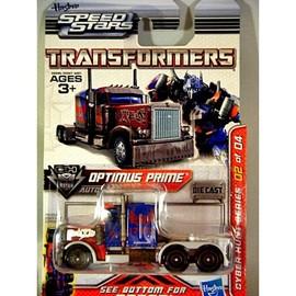 Optimus Prime 18 Wheeler Truck Cab Cyber Hunt Series | Model Cars
