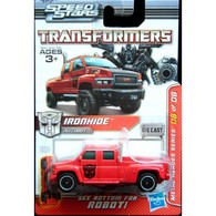 Hasbro transformers metal heroes series ironhide gmc pickup truck  medium