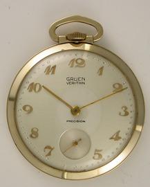 Gruen Veri-Thin Pocket Watch | Pocket Watches