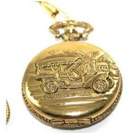 Mercedes-1903, Montres Carlo Pocket Watch with Chain | Pocket Watches