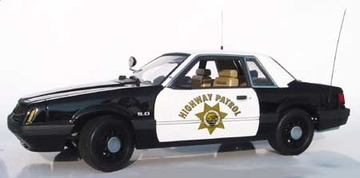 1992 Ford Mustang LX 5.0 Police Special | Model Cars