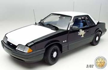 1995 Ford Mustang LX 5.0 Police Special | Model Cars