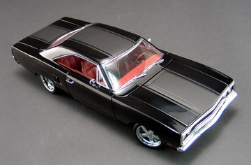 1970 Plymouth Roadrunner Blackbird Street Fighter | Model Cars