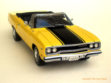 1970 Plymouth Road Runner Convertible | Model Cars
