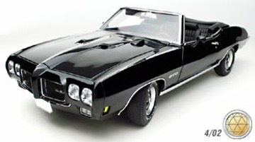 1970 Pontiac GTO Convertible | Model Cars