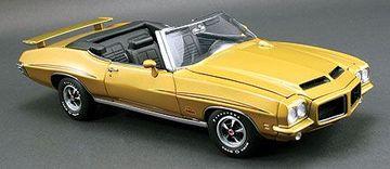 1971 Pontiac GTO The Judge Convertible | Model Cars