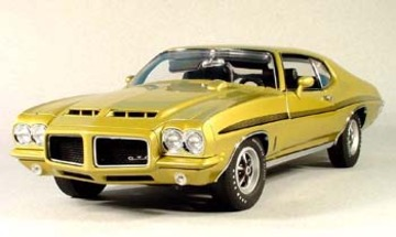 1972 Pontiac GTO 455 Hardtop | Model Cars