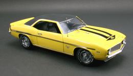 Chevrolet yenko camaro yellow medium