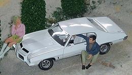 Pontiac gto hardtop white medium