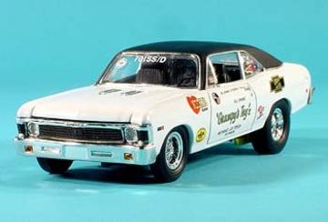 1968 Chevrolet Nova SS 396 COPO Mr Grumpy Drag Car | Model Racing Cars