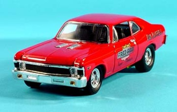 1968 Chevrolet Nova SS 396 COPO Fred Gibb Chevrolet Drag Car | Model Racing Cars