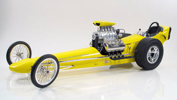 1962 Greer-Black-Prudhomme Dragster | Model Racing Cars