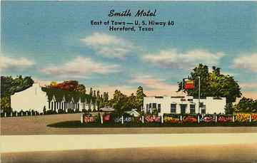 Smith Motel Hereford, Texas | Postcards