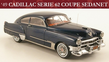 Cadillac Series 62 Coupe Sedanet  | Model Cars