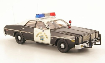Dodge Monaco  California Highway Patrol Police Car | Model Cars