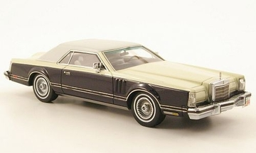 Lincoln Continental MkV Coupe  | Model Cars