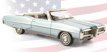 Pontiac Bonneville Convertible  | Model Cars