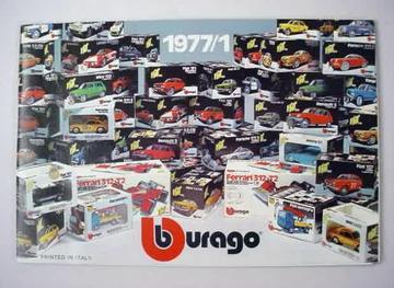 Bburago Catalog 1977/1 | Brochures & Catalogs