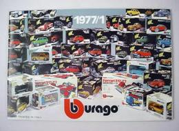 Bburago Catalog 1977/1 | Brochures and Catalogs