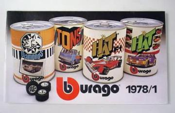 Bburago Catalog 1978/1 | Brochures and Catalogs