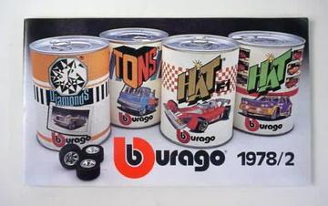 Bburago Catalog 1978/2 | Brochures and Catalogs