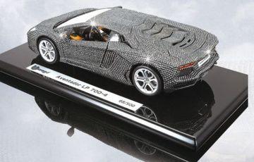 Lamborghini Aventador LP700-4 Swarovski Crystal Model  | Model Cars