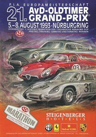 21. AvD-Oldtimer Grand-Prix 1993 | Posters and Prints