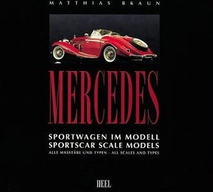Mercedes Sportscar Scale Models | Books
