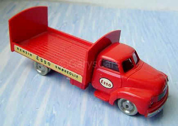 Bedford Esso Barrel Wagon Trailer | Model Trucks