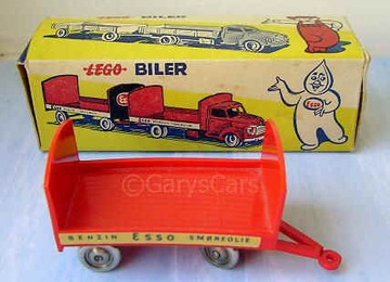 Bedford Esso Barrel Wagon | Model Trucks