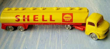 Mercedes Shell Tanker | Model Trucks