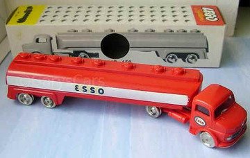 Mercedes Esso Tanker | Model Trucks
