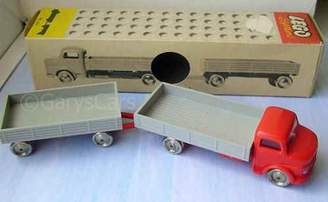 Mercedes Low Loader and Trailer | Model Trucks